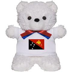 Papua new Guinea Flag Teddy Bear