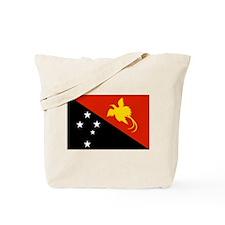 Papua new Guinea Flag Tote Bag