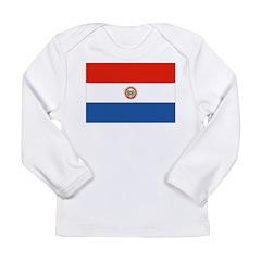 Paraguay Flag Long Sleeve Infant T-Shirt