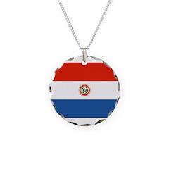 Paraguay Flag Necklace