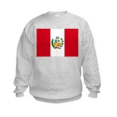 Peru Flag Sweatshirt