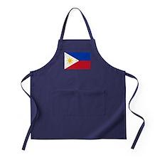 Philippines Flag Apron (dark)