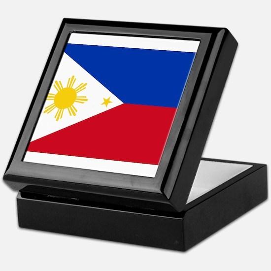 Philippines Flag Keepsake Box