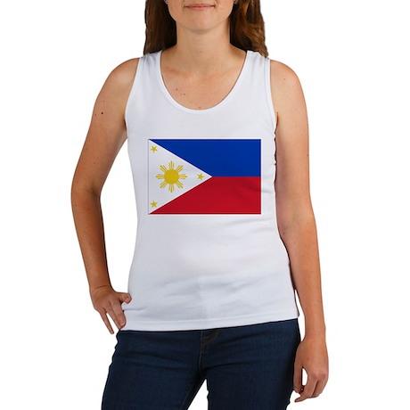 Philippines Flag Women's Tank Top