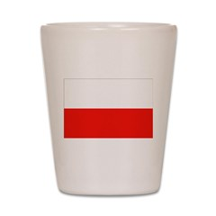 Poland Flag Shot Glass
