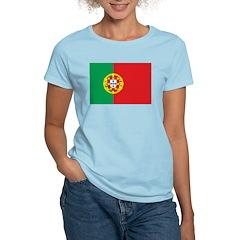 Portugal Flag Women's Light T-Shirt
