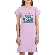 "Keeshond ""Non-Sporting Breed"" Women's Nightshirt"