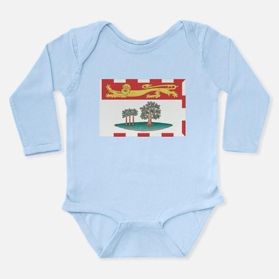 Prince Edward Islands Flag Long Sleeve Infant Body
