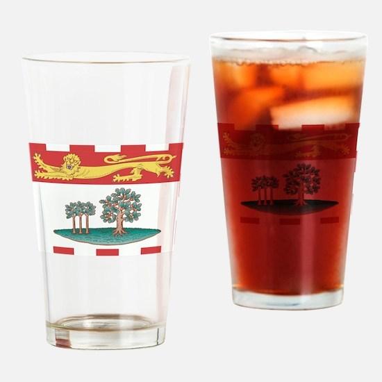 Prince Edward Islands Flag Drinking Glass
