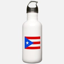 Puerto Rico Flag Water Bottle