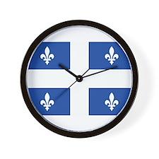 Quebec Flag Wall Clock