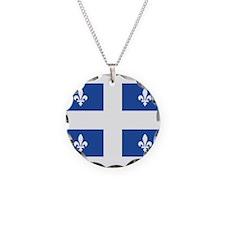 Quebec Flag Necklace