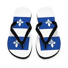 Quebec Flag Flip Flops