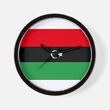 Republic of Libya Flag Wall Clock