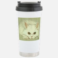 """SNOWFLAKE"" / KITTEN Travel Mug"