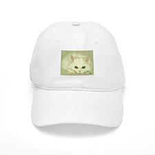 """SNOWFLAKE"" / KITTEN Baseball Cap"