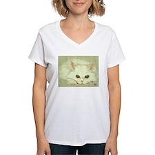 """""""SNOWFLAKE"""" / KITTEN Shirt"""