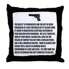 Backup Throw Pillow