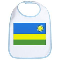 Rwanda Flag Bib