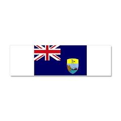 Saint Helena Flag Car Magnet 10 x 3