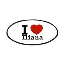 I love Iliana Patches