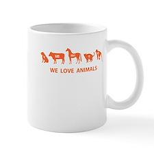 WE LOVE ANIMALS: Mug