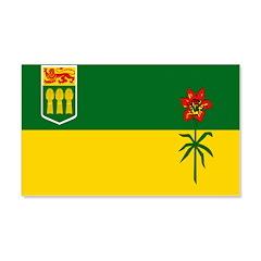 Saskatchewan Flag 22x14 Wall Peel