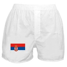 Serbia Flag Boxer Shorts