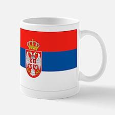 Serbia Flag Small Small Mug