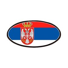 Serbia Flag Patches
