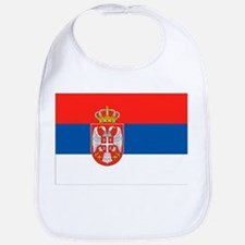 Serbia Flag Bib