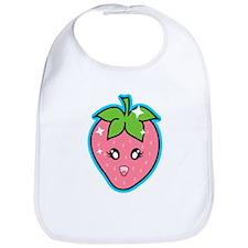 Cute Strawberry Bib