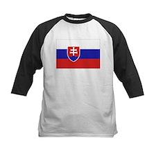 Slovakia Flag Tee