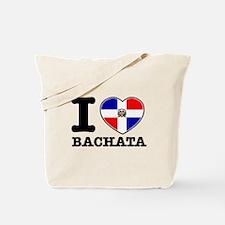 I love Bachata Tote Bag