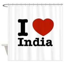 I love India Shower Curtain