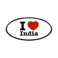 I love India Patches