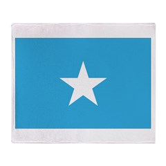 Somalia Flag Throw Blanket