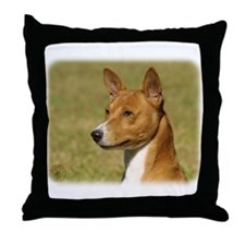 Basenji 9L034D-16 Throw Pillow