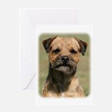 Border Terrier 9Y325D-038 Greeting Card
