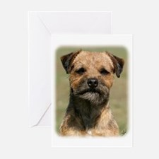 Border Terrier 9Y325D-038 Greeting Cards (Pk of 10