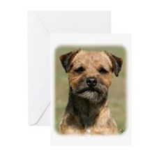 Border Terrier 9Y325D-038 Greeting Cards (Pk of 20
