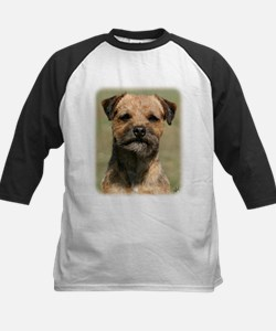Border Terrier 9Y325D-038 Kids Baseball Jersey