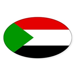 Sudan Flag Decal