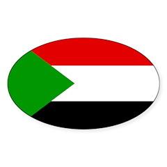 Sudan Flag Decal