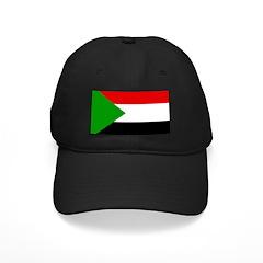 Sudan Flag Baseball Hat
