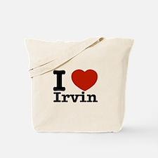 I love Irvin Tote Bag