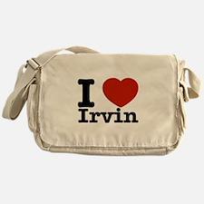 I love Irvin Messenger Bag
