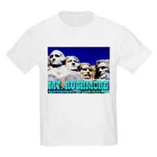 Mt. Rushmore National Monumen Kids T-Shirt