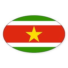 Suriname Flag Decal