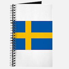 Sweden Flag Journal